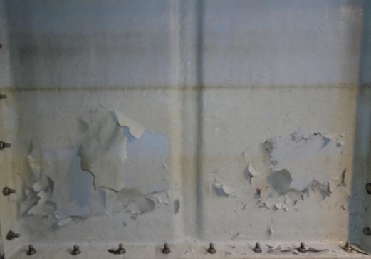 water tanks delaminated internal gel coat